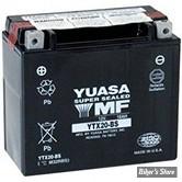 Batterie - 65991-82B - YTX20-BS - Yuasa