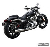 - ECHAPPEMENT THUNDERHEADER - SOFTAIL 12/17 - CHROME - 1067