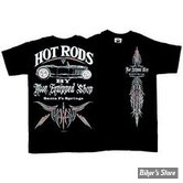 TEE-SHIRT - MOON - MOON EQUIPPED HOT RODS - COULEUR : NOIR - TAILLE 5 / XL
