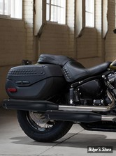SILENCIEUX RINEHART RACING - SOFTAIL MILWAUKEE EIGHT 18UP - FLHC/S / FLDE - NOIR / EMBOUTS : NOIR - 500-1211