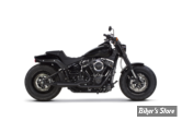 ECHAPPEMENT - TWO BROTHERS RACING - SOFTAIL 18+ - COMP-S 2/1 - ACIER INOX / EMBOUT : CARBONE