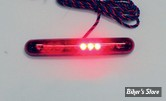 BANDE DE LEDS CUSTOM DYNAMICS - KNIGHT RIDERZ SEQUENTIAL LED LIGHT BAR - DOUBLE FONCTIONS - COULEUR : ROUGE - LONGUEUR 120MM / 12 LEDS - La Pièce