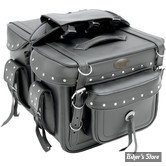 AAR - SACOCHES CAVALIERE - ALL AMERICAN RIDER - XXXL BOX STYLE DETACHABLE - RIVET