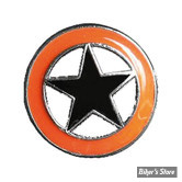 PIN'S - LONE STAR - ORANGE / NOIR