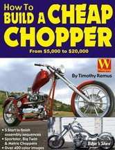 CONSTRUCTION - BOOK, HOW TO BUILD A CHEAP CHOPPER