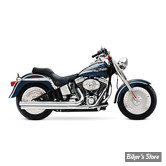 ECHAPPEMENT SUPERTRAPP - MEAN MOTHER 2 EN 2 - LONG - SOFTAIL 84/11 - CHROME