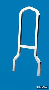 "SISSY BAR KHROME WERKS - LOWBOY - Largeur 8 1/4"" - CHROME"