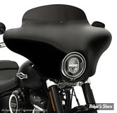 ECLATE I - PIECE N° 25 - COUVERCLE D EMBRAYAGE - BIG TWIN 70/99 - BILTWELL - DISHED - NOIR