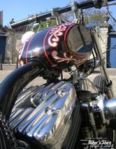 ECLATE D - PIECE N° 03 - COUVRES CULBUTEURS - SPORTSTER 04UP - ESTEVES MOTORCYCLE DESIGN EMD - RIBSTERS - POLI
