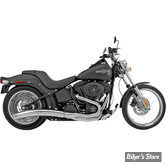 ECHAPPEMENT SUPERTRAPP - LOW ROLLER 2 en 1 - SOFTAIL 86/11 - CHROME