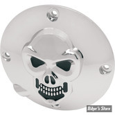 ECLATE I - PIECE N° 18 - Couvercle d embrayage - SPORTSTER 94/03 - SKULL / Chrome