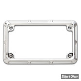 ENTOURAGE DE PLAQUE - ARLEN NESS - BEVELED - CHROME