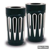 ECLATE N - PIECE N° 68 - COUVRES TUBES de fourche Arlen Ness - Touring - Deep Cut - chrome - 20-014