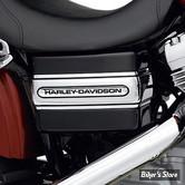 HD - Bande de Cache-Batterie logo Harley-Davidson - Dyna à partir de 2006