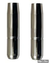 ECLATE N - PIECE N° 21 - TUBES DE FOURCHES CHROMES 35MM XL75/83 / FX - 23 1/4 - MCS - SHOW CHROME