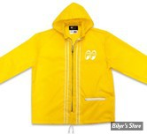 COUPE VENT - MOON - MOON EQUIPPED LIGHT WINDBREAKER - COULEUR : JAUNE - TAILLE XL