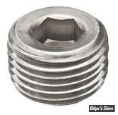 Bouchon 1/4-18 NPT - acier inox