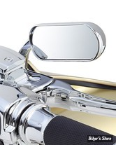 RÉTROVISEUR ARLEN NESS - Mini-Oval Micro-Mirror - CHROME - COTE DROIT - 13-407
