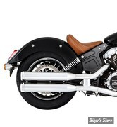 "SILENCIEUX - INDIAN SCOUT 15UP - RINEHART RACING - 3.5"" - CORPS : CHROME / EMBOUT : CHROME"