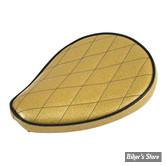 SELLE SOLO UNIVERSELLE - LARGEUR 230MM - LE PERA - SOLO - METALFLAKE - SOLID GOLD DIAMOND - BIAIS NOIR