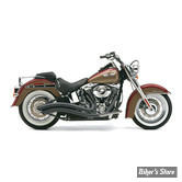 ECHAPPEMENT COBRA - SPEEDSTER SWEPT - SOFTAIL ROCKER 08/11 - NOIR