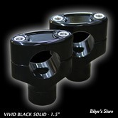"RISERS FIGURE MACHINE - CLEAN RISERS - HAUTEUR : 6"" - BLACK GLOSS"