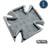 FEU ARRIERE MALTESE CROSS BILLET - TRANSPARENT