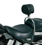 DOSSIER CONDUCTEUR KURYAKYN - Pour Softail - Driver Backrest - 8987