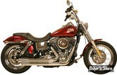 ECHAPPEMENT RUSH - FULL SYSTEM - CROSSOVER - DYNA 91/05 - ANGLE TIP - CHROME