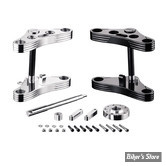 KIT TES LARGES - REBUFFINI - SPORTSTER 08/13 - FOURCHE DE 39MM - MID GLIDE - INCLINAISON : 4° - POLI
