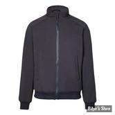 SWEAT SHIRT ZIPPE - JOHN DOE - SOFTSHELL BLACK - COULEUR : NOIR - TAILLE 3 / M