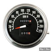 COMPTEUR - FAT BOB 68/84 - EN KM/H - RATIO 1:1