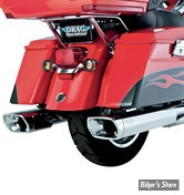 SILENCIEUX VANCE & HINES - MONSTER SQUARED - TOURING 95/16 - CHROME - 16851