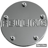 CACHE ALLUMAGE - TWIN CAM 99UP - FEULING - LOGO - CHROME