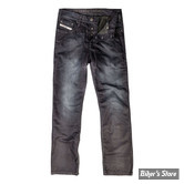 PANTALON - JOHN DOE - JEANS WITH KEVLAR LINING - COULEUR : DARK BLUE - TAILLE US 30/34