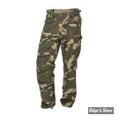 PANTALON - WEST COAST CHOPPERS - WCC - M65 - CARGO - COULEUR : CAMOUFLAGE - TAILLE 4 / L