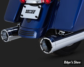 SILENCIEUX - VANCE & HINES - TOURING 17UP MILWAUKEE-EIGHT® - MONSTER ROUND SLIP-ONS - CHROME - 16780