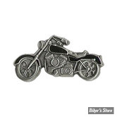PIN'S - BLACK COLORED MOTORCYCLE