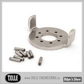 BUTEE DE DIRECTION EXTERNE - TOLLE - INOX - XL / FXR / FXD
