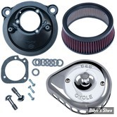 - FILTRE A AIR - S&S - STEALTH S&S  - MINI TEARDROP AIR CLEANER KIT - SPORTSTER 07UP - CHROME - 170-0439A