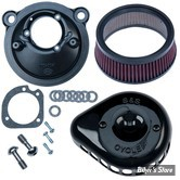 - FILTRE A AIR - S&S - STEALTH S&S  - MINI TEARDROP AIR CLEANER KIT - SPORTSTER 07UP - NOIR BRILLANT - 170-0440A
