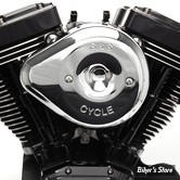 - FILTRE A AIR - S&S - MILWAUKEE EIGHT TOURING 17UP / SOFTAIL 18UP - TEARDROP STEALTH AIR CLEANER KIT - CHROME - 170-0524