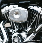 - FILTRE A AIR - S&S - STEALTH - TOURING 08/16 / SOFTAIL 16/17 / DYNA FXDLS 16/17 - AVEC TIRAGE ELECTRONIQUE - TRIBUTE - CHROME