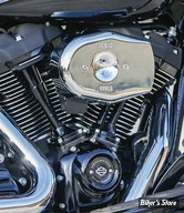 - FILTRE A AIR - S&S - MILWAUKEE EIGHT TOURING 17UP / SOFTAIL 18UP - STEALTH - TRIBUTE - CHROME - 170-0595A