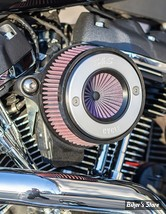 - FILTRE A AIR - S&S - MILWAUKEE EIGHT TOURING 17UP / SOFTAIL 18UP -  Stealth Air Stinger Kit - BRUSHED RING - 170-0714