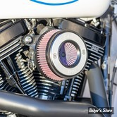 - FILTRE A AIR - S&S -  SOFTAIL 01/15 / DYNA 04/17 / TOURING 02/07 - STEALTH AIR STINGER KIT - BRUSHED RING - 170-0716