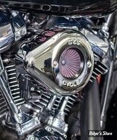 - FILTRE A AIR - S&S - MILWAUKEE EIGHT TOURING 17UP / SOFTAIL 18UP -  Stealth Air Stinger Kit - Teardrop - CHROME - 170-0717