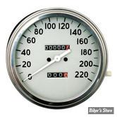 COMPTEUR - FAT BOB - RAPPORT : 2:1 - EN KM/H - 36/40 FACE