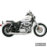 ECHAPPEMENT BASSANI - Road Rage 2en1 - SPORTSTER 04/13 - Court/Chrome