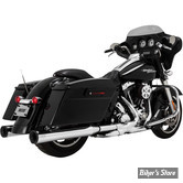 SILENCIEUX VANCE & HINES ELIMINATOR 400 - CHROME / EMBOUT NOIR - TOURING 95/16 - 16706